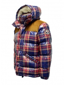 Napapijri men's puffer jacket Antero check