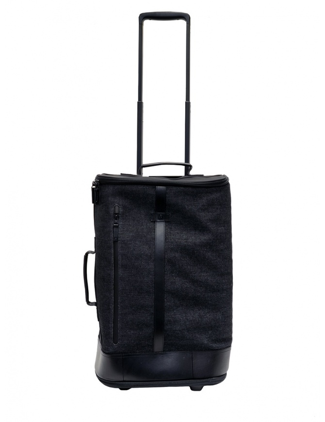 Trolley Frequent Flyer Carry-On in denim nero CARRY-ON DENIM BLACK/BLACK valigeria online shopping