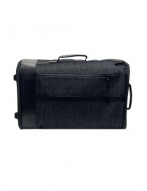 Frequent Flyer Carry-On in black denim travel bags buy online