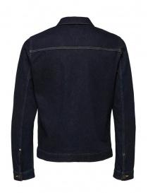 Selected Homme jacket in dark blue denim buy online
