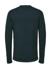 Selected Homme pullover lavorato colore verde abete acquista online