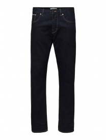 Selected Homme classic dark blue jeans online