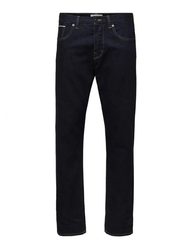 Selected Homme classic dark blue jeans 16069665 DARK BLUE DENIM mens jeans online shopping