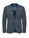 Selected Homme blazer monopetto blu melange acquista online 16068351 SAND