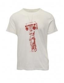 John Varvatos T-shirt Venere di Milo con stereo KG4601V3B KW3B1 103 SALT