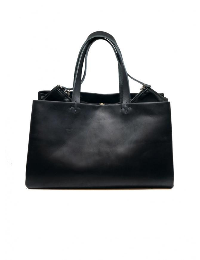 M.A+ borsa a mano a tre scomparti BPHI18 VA 1.0 BLACK borse online shopping