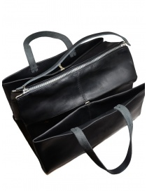 M.A + three-compartment handbag