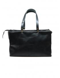 M.A+ piccola borsa bauletto in pelle nera online