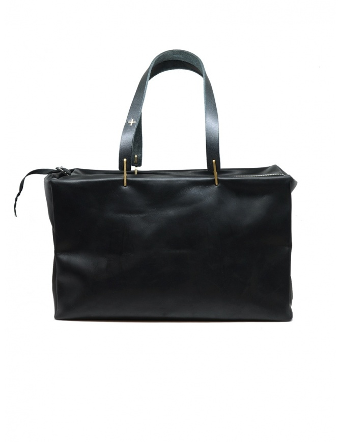 M.A+ small Boston bag in black leather BX103 VA 1.0 BLACK bags online shopping