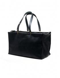 M.A+ piccola borsa bauletto in pelle nera