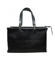 M.A+ small Boston bag in black leather price