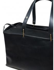 M.A+ piccola borsa bauletto in pelle nera borse acquista online