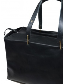 M.A+ small Boston bag in black leather bags buy online