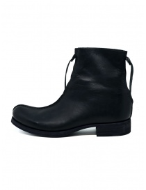 M.A+ black double zippered boot
