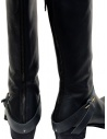 M.A+ high boots in black leather with buckle and zipper price SW6C46Z-R VA 1.5 BLACK shop online