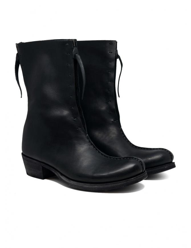 M.A+ stivali a doppia cerniera con tacco camperos SW6D3ZZ VA 1.5 BLACK calzature donna online shopping