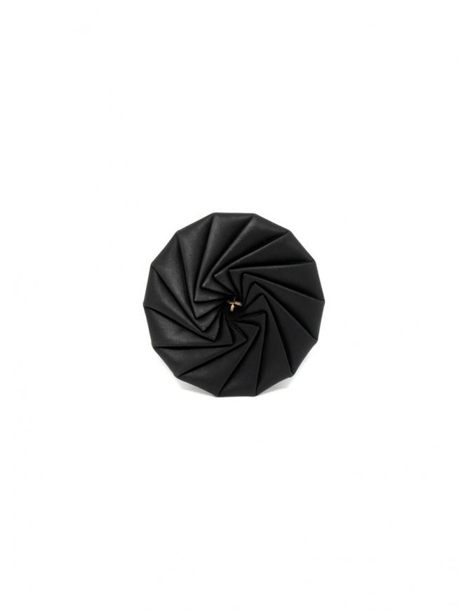 M.A+ portamonete in pelle nera a rotella A-WPOLY14 VA 1.0 BLACK portafogli online shopping