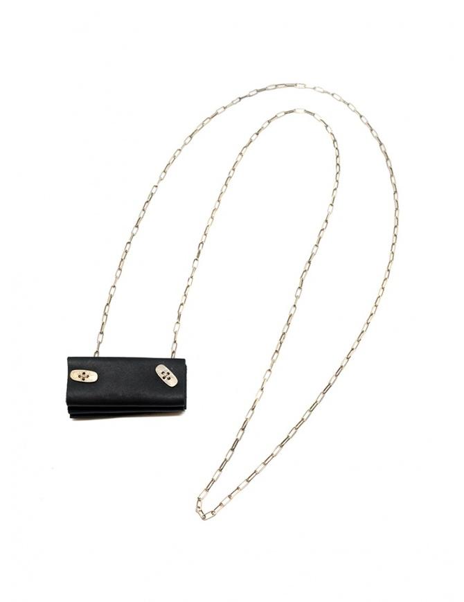 M.A+ collana in argento con mini borsa a fisarmonica A-BG4 VA 1.0 BLACK preziosi online shopping
