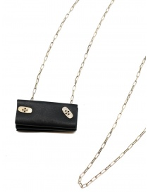 M.A+ silver necklace with mini accordion bag