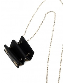 M.A+ silver necklace with mini accordion bag price