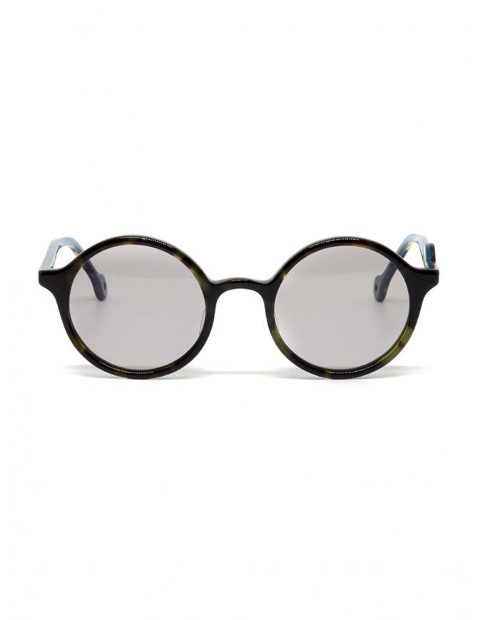 Kapital sunglasses in turtle effect acetate with grey lenses K1909XG520 BEK glasses online shopping