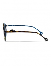 Kapital sunglasses in turtle effect acetate with grey lenses price