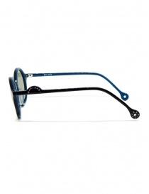 Kapital sunglasses in black acetate with green lenses price