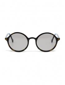 Occhiali da sole Kapital con lenti grigie e dettaglio a smile K1909XG521 BEK order online