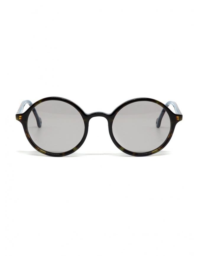 Occhiali da sole Kapital con lenti grigie e dettaglio a smile K1909XG521 BEK occhiali online shopping