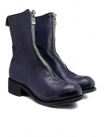 Womens shoes online: Guidi PL2 COATED N_PURP purple horse leather boots
