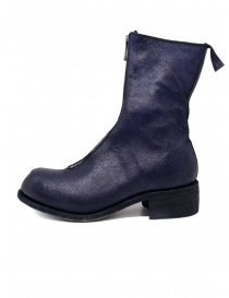 Guidi PL2 COATED N_PURP stivali viola in pelle di cavallo
