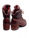 Stivale Guidi R19V rosso in pelle di cavallo stile scarpone R19V HORSE FULL GRAIN 1006T prezzo