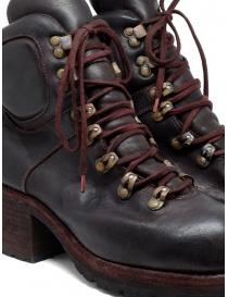 Stivali Guidi R19V CV23T rossi bordeaux stile scarpone calzature donna acquista online