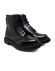 Womens shoes online: Adieu type 129 black combat boots