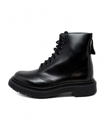 Adieu type 129 black combat boots