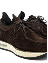 BePositive Cyber brown suede leather sneakers 9FCYBER03/SUE/DKB-WALLY buy online