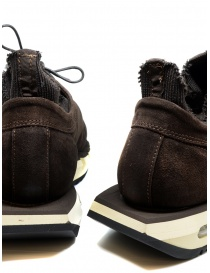 BePositive Cyber brown suede leather sneakers mens shoes price