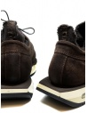BePositive Cyber brown suede leather sneakers price 9FCYBER03/SUE/DKB-WALLY shop online