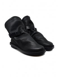 Trippen black Bomb ankle boots with removable strap BOMB F VST VST WAX
