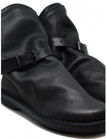Trippen black Bomb ankle boots with removable strap womens shoes buy online
