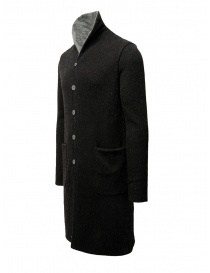 Label Under Construction black-gray reversible coat