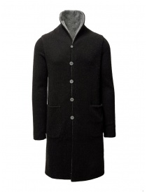 Label Under Construction black-gray reversible coat online