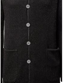 Label Under Construction black-gray reversible coat mens coats buy online