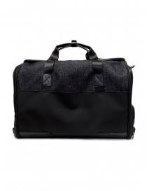 Frequent Flyer duffel bag in black denim price