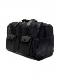 Frequent Flyer duffel bag in black denim buy online