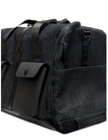 Frequent Flyer duffel bag in black denim travel bags buy online