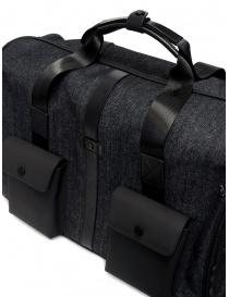 Frequent Flyer duffel bag in black denim travel bags price