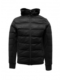 Napapijri Ze-Knit black short down jacket with hood N0YKBI041 ZE-K230 BLACK order online