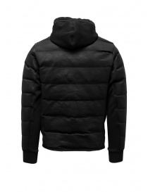 Napapijri Ze-Knit black short down jacket with hood