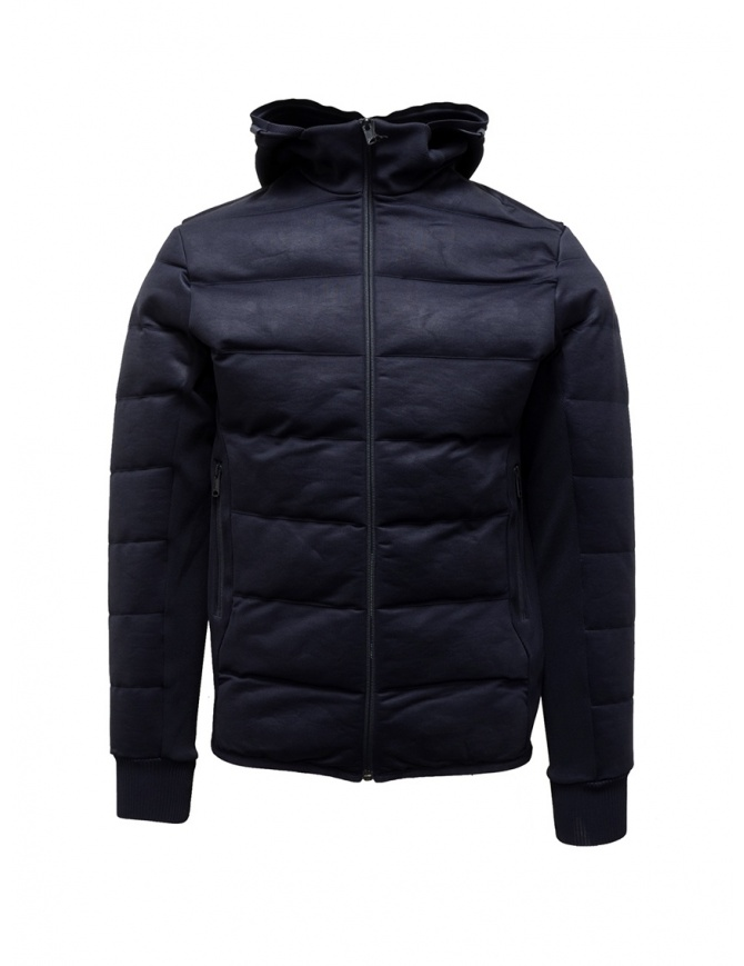 Napapijri Ze-Knit piumino blu corto con cappuccio N0YKBI176 ZE-K230 BLU MARINE giubbini uomo online shopping